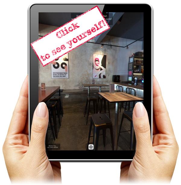 vTour on iPad