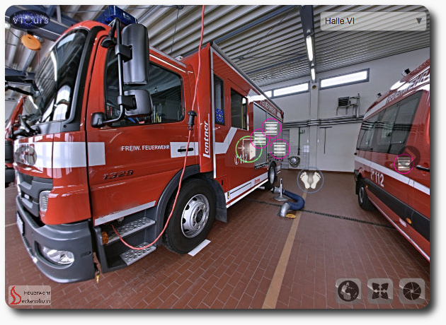 vTour Fire Station Germany