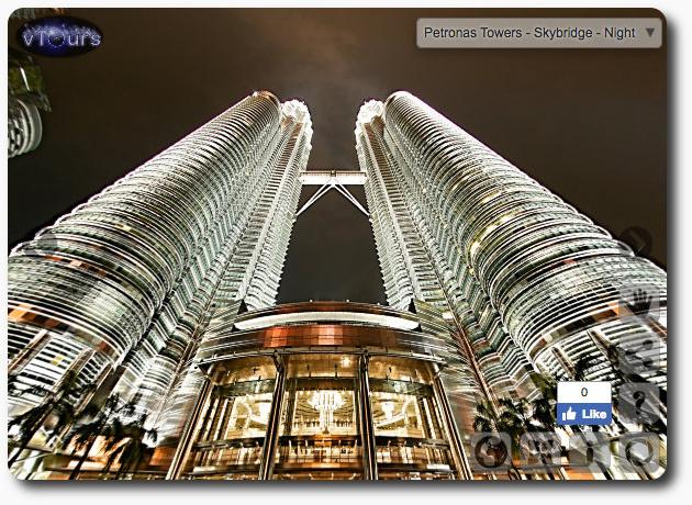 vTour KLCC Petronas Towers, Kuala Lumpur, Malaysia